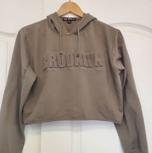 """""""Brooklyn """"Crop top Hoodie"""